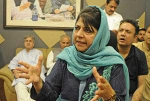 The RSS mounted pressure on the BJP to withdraw from the Mehbooba Mufti government after an escalation in terror activities.