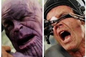 Josh Brolin played Thanos in Avengers: Infinity War.