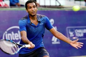 Ramkumar Ramanathan lost to Sebastian Ofner in the first round of the Ilkley Challenger tennis tournament.
