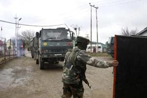 Police said following intelligence inputs about a group of militants hiding in Pulwama's Tral area, security forces launched a cordon and search operation.