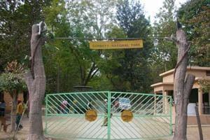 Corbett Tiger Reserve in Uttarakhand.
