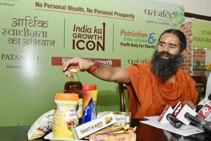 Chief minister Yogi Adityanath had called up Ramdev (pictured here) and Patanjali Group CEO Acharya Balakrishna personally to assure them of all possible help and co-operation.