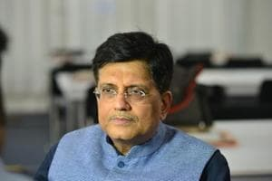 Interim finance minister, Piyush Goyal