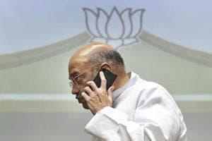 BJP president Amit Shah in New Delhi on June 13, 2018.