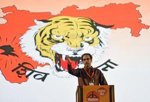 Shiv Sena chairperson Uddhav Thackeray.
