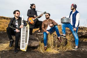 Delhi-based Hindi rock band Tarkash will light up the stage with their renditions tonight at the Friday Jam 5.