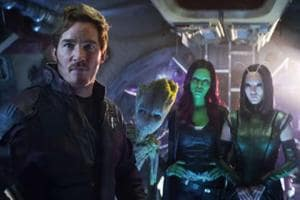 The Guardians of the Galaxy in a still from Avengers: Infinity War.