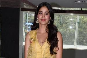 Janhvi Kapoor is busy promoting her first film Dhadak.