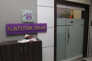 The office of Flintstone group at Orion business centre on Ghodbunder, Thane.