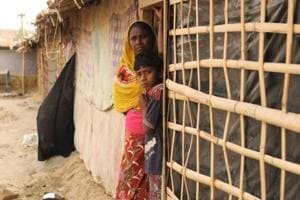 Photos| World Refugee Day: Rohingya in Mewat camps lack water, education and sanitation
