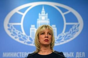 """Russian Foreign Ministry spokeswoman Maria Zakharova said that """"the most alarming thing about this news is the aim of his instructions, namely to ensure (US) domination in space."""""""