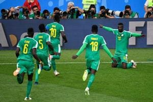 Senegal stunned Poland 2-1 in their opening FIFAWorld Cup clash at the Spartak Stadium in Moscow on Tuesday.