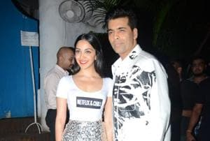 KaranJohar, Kiara Advani and the rest of the team celebrate the success of Lust Stories.