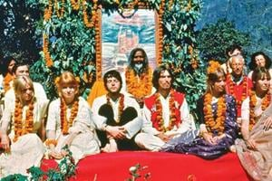 The Beatles came together at the Rishikesh ashram in the spring of 1968.