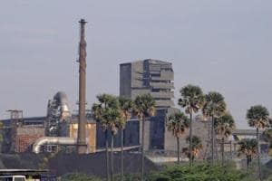 A general view shows Sterlite Industries Ltd