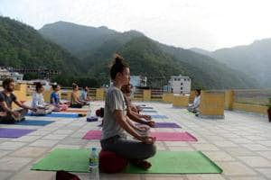 Photos: How Rishikesh turned yoga central thanks to The Beatles