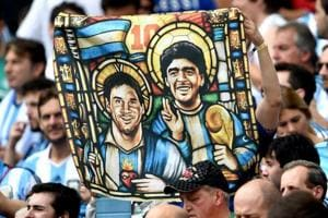 Lionel Messi is a better footballer than Diego Maradona, according to Real Madrid and Spain defender Sergio Ramos.
