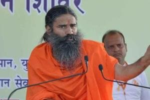 Baba Ramdev's Pathanjali Trust had proposed the mega project , and were expecting the land that belonged to Govind Devji Trust.