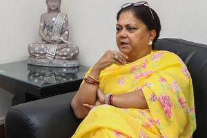 Rajputs and Gujjars, together with the Jats whom Vasundhara Raje has tried to woo in the past four years, make up about one-fifth of the state's population and can upset her bid for a second successive term in office in the desert state.