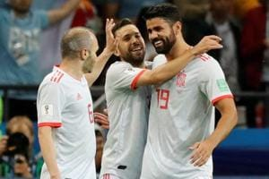 Diego Costa scored Spain's winner against Iran in a Group B clash of the FIFA World Cup 2018 in Kazan on Wednesday. Follow highlights of Iran vs Spain, FIFA World Cup 2018 Group B match, here.