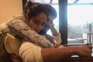 Shahid Kapoor is resting at home with wife Mira Rajput after an injury.