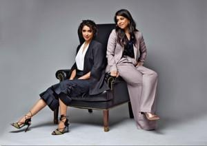 Here's how you can power through with the best power suits (Styling by Shamali Singh, prop: Ebony Croc Wing chair by  the V Renaissance)