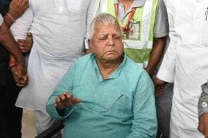 File photo of Rashtriya Janata Dal chief Lalu Prasad in Patna.