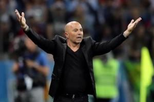 Argentina coach Jorge Sampaoli has been criticised for his tactics at the FIFA World Cup 2018