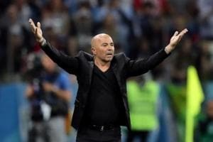 Argentina national football team coach Jorge Sampaoli was criticised from many quarters for his tactics.