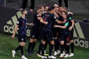 Get highlights of Argentina vs Croatia, Group D of FIFA World Cup 2018, encounter here. Croatia thrashed Argentina 3-0 to enter the last 16.