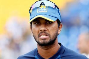 Dinesh Chandimal was given two suspension points and fined 100 per cent of his match fee after the second Test between Sri Lanka and West Indies in Gros Islet.