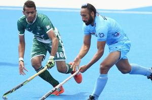 Get highlights of India vs Pakistan, Champions Trophy hockey in Breda, here. India thrashed Pakistan 4-0 in the opening match of the 2018 Champions Trophy in Breda today.