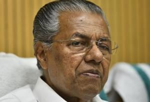 Pinarayi Vijayan, Chief Minister of Kerala, holds a press conference at Kerala House on the completion of two years by his government in New Delhi , India, on June 23, 2018.