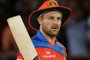 Brendon McCullum failed a drug test while playing for Gujarat Lions in the Indian Premier League (IPL) 2016.