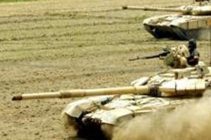 Spike anti-tank guided missiles ave a range from 800 metres to eight km.
