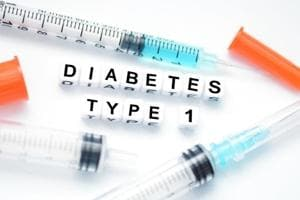 Type-1 diabetes is a chronic condition in which the pancreas produce little or no insulin.