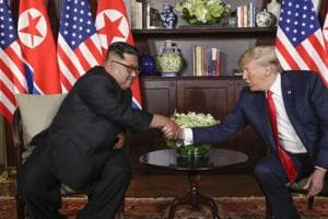 North Korea has noticeably toned down its anti-Washington rhetoric over the past several months to create a more conciliatory atmosphere for the summit and avoid souring attempts by both sides.