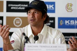 Sachin Tendulkar had played with the pace bowlers like Javagal Srinath, Kapil Dev and Zaheer Khan