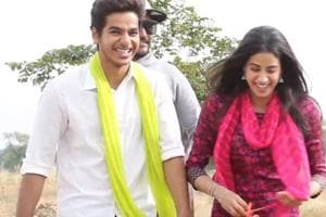Janhvi Kapoor says Ishaan Khatter 'shatters' her brain cells in new Dhadak video- Watch it here