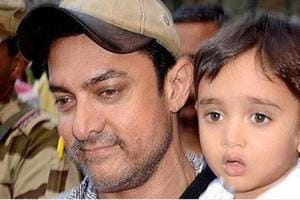 Aamir Khan's son Azad Rao enjoys a football game on Mumbai streets, see pics