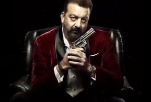Sanjay Dutt as a gangster in Saheb Biwi Aur Gangster 3 motion poster
