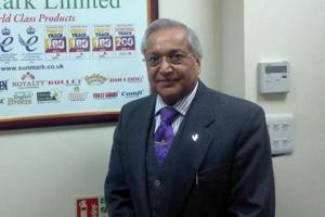Rami Ranger in his company office in London. (HT File Photo)