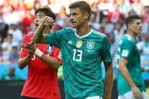 Germany were defeated by South Korea in their FIFA World Cup 2018 encounter in Kazan on Wednesday. Follow highlights  of South Korea vs Germany, FIFA World Cup 2018  here.
