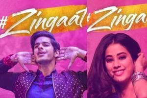 Janhvi Kapoor shares video from her practice session for Zingaat and her energy is infectious