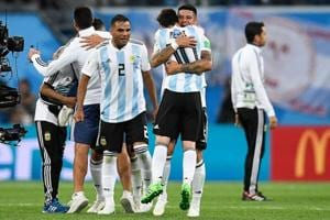 Argentina are one of fourteen teams already into the FIFA World Cup 2018 knockout stage.