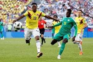 Colombia defeated Senegal 1-0 in a Group H match of the FIFA World Cup 2018 at the Samara Arena. Follow highlights of Senegal vs Colombia, FIFA World Cup 2018 Group H match, here.