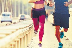 People get breathless after running, especially when they pick it up later in life.