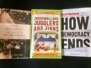 Magic, democracy and the Emergency:Diverse reads this week!