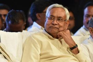 Janata Dal (United) national president and Bihar chief minister Nitish Kumar