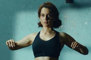 Kangana Ranaut features in a new Reebok advertisement.